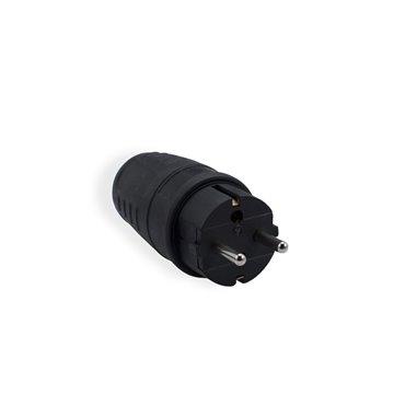 Wtyczka gumowa z/u 16A 2P+Z 230V UNISCHUKO IP44 WT-30G