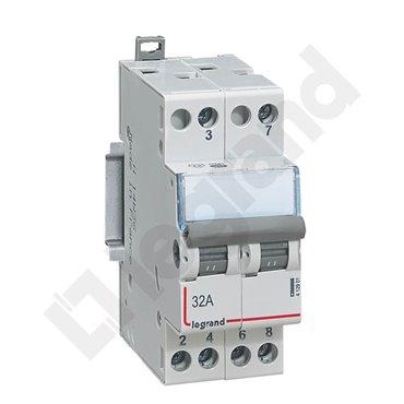 Przełącznik modułowy 2P 32A 400V 412901