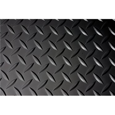 Mata antyzmęczeniowa Deckplate Czarna 0.6m x 0.9m
