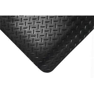Modułowa mata antyzmęczeniowaDeckplate Connect Czarna - 0.5m x 0.5m - krawędź