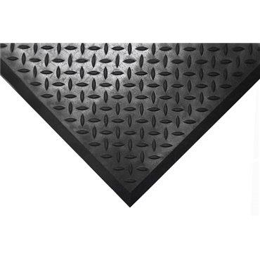Mata antypoślizgowa olejoodporna Comfort-Lok Czarna 0.7m x 0.8m - moduł boczny