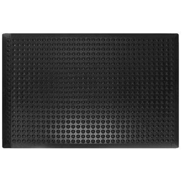 Mata antyzmęczeniowa olejoodporna Bubblemat Czarna 25% Nitryl 0.9m x 1.2m