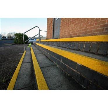Osłona krawędzi schodów COBAGRiP Żółta 1m x 55mm x 55mm