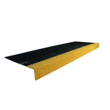 Antypoślizgowa nakładka na schody GRP COBAGRiP Czarno/Żółta 1m x 345mm x 55mm