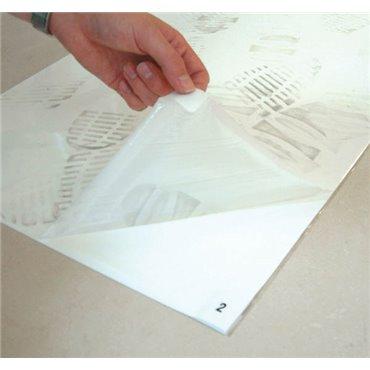 Mata dekontaminacyjna First-Step Biała 0.46m x 1.17m (w zestawie 4 sztuki)