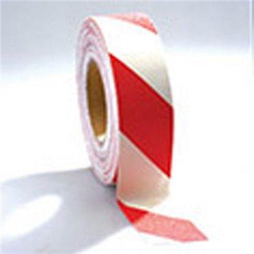 Antypoślizgowa taśma samoprzylepna Gripfoot 50mm x 18.3m - Biało/Czerwona