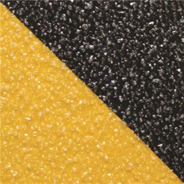 Antypoślizgowa taśma samoprzylepna Gripfoot 102mm x 18.3m - Żółto/Czarna