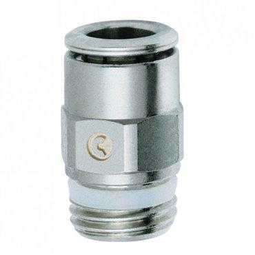 Szybkozłącze wtykowe proste S6510, przewód 16mm, gwint 3/4