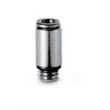 Szybkozłącze wtykowe proste Micro 6512, przewód 4mm, gwint M7