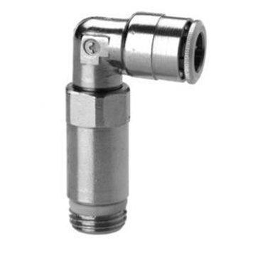 Szybkozłącze wtykowe kątowe Sprint 6525, przewód 6mm, gwint 1/4