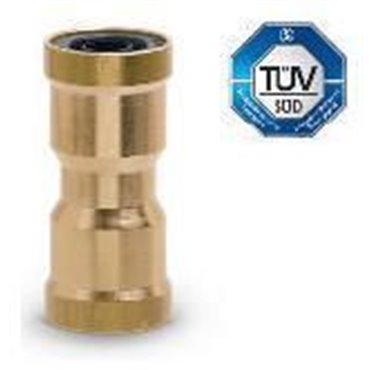Szybkozłącze wtykowe przelotowe C-TRUCK 9580, przewód 18/14mm