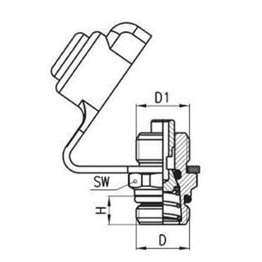 Zawór pomiarowy C-TRUCK VPC, gwint M16x1,5