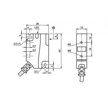 Indukcyjne czujniki zbliżeniowe - F1