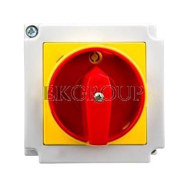 Łącznik krzywkowy 0-1 4P 16A w obudowie / blokada/ 4G16-92-PK S6-87727