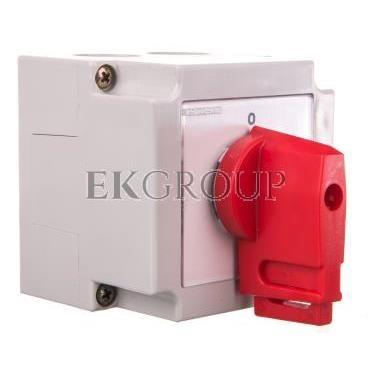 Łącznik krzywkowy 0-1 4P 10A w obudowie / blokada/ 4G10-92-PK S6-88427