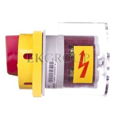 Łącznik krzywkowy awaryjny 0-1 4P 25A do wbudowania 4G25-92-U S25 63-246422-011-87731