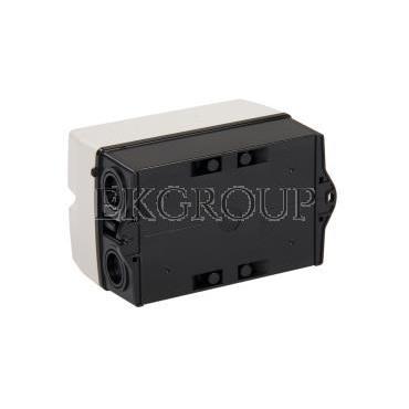 Obudowa do rozłącznika GA016A-GA040A pokrętło czerwono-żółte IP65 GAZ1-86205