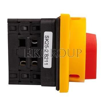 Łącznik krzywkowy 0-1 3P 25A do wbudowania SK25-2.8211\P08-87026