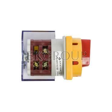 Łącznik krzywkowy awaryjny 0-1 3P 16A do wbudowania 4G16-10-U S25 63-241671-021-86763