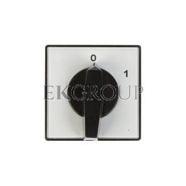 Łącznik krzywkowy 0-1 1P 16A do wbudowania 4G16-90-U 63-840390-021-86765