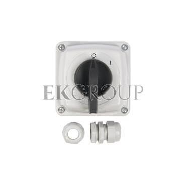 Łącznik krzywkowy 0-1 3P 16A IP44 Łuk E16-13 w obudowie 951611-88147
