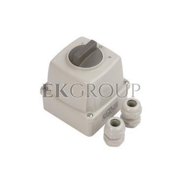 Łącznik krzywkowy L-0-P 3P 16A IP44 Łuk E16-43 w obudowie 951642-88154