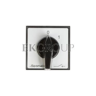 Łącznik krzywkowy 0-1 3P 16A do wbudowania ŁK16R-2.8211\P03-86780