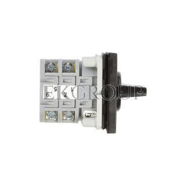 Łącznik krzywkowy 0-1 3P 16A do wbudowania ŁK16R-2.8211\P03-86781