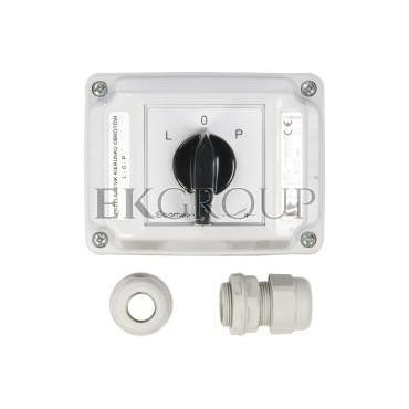 Łącznik krzywkowy L-0-P 3P 16A w obudowie ŁK16R-3.8368\OB2-86792