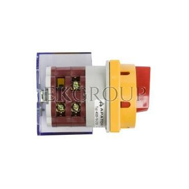 Łącznik krzywkowy awaryjny 0-1 3P 25A do wbudowania 4G25-10-U S25 63-241674-031-86802