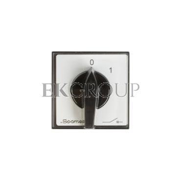 Łącznik krzywkowy 0-1 3P 25A do wbudowania ŁK25R-2.8211\P03-86819