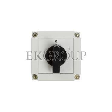 Łącznik krzywkowy 0-1 3P 10A w obudowie 4G10-10-PK 63-840306-011-86884