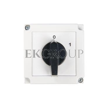 Łącznik krzywkowy 0-1 3P 16A w obudowie 4G16-10-PK 63-840306-021-86896