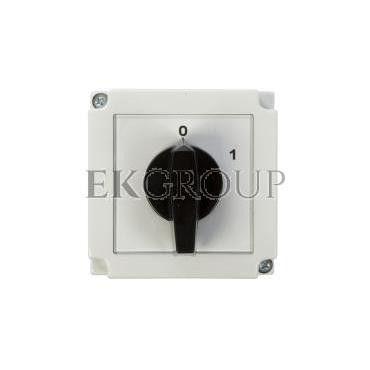 Łącznik krzywkowy 0-1 1P 16A w obudowie 4G16-90-PK 63-840392-021-86902