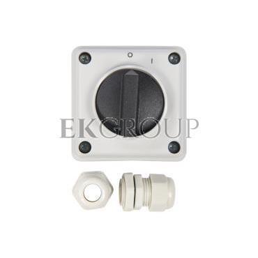 Łącznik krzywkowy 0-1 3P 12A IP65 Łuk E12-13 w obudowie 921213-88144