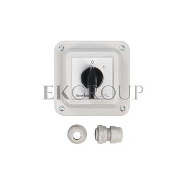 Łącznik krzywkowy 0-1 3P 16A w obudowie ŁK16R-2.8211\OB1-86908