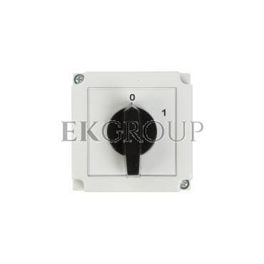 Łącznik krzywkowy 0-1 3P 25A w obudowie 4G25-10-PK 63-840306-031-86920