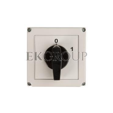 Łącznik krzywkowy 0-1 3P 40A w obudowie 4G40-10-PK 63-840306-041-86949