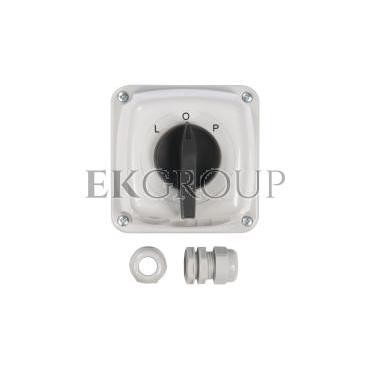 Łącznik krzywkowy L-0-P 3P 40A IP44 Łuk 40-43 w obudowie 924029-88139