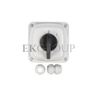 Łącznik krzywkowy 0-1 3P 40A IP44 Łuk 40-13 w obudowie 924005-88130