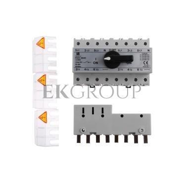 Przełącznik sieć-agregat 63A 3P N (biegun N nierozłączalny) PRZK-3063N\W02-87005