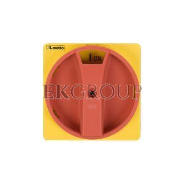 Pokrętło drzwiowy żółto-czerwone z blokadą do GA..A, GA..C i GA..D GAX61-85715
