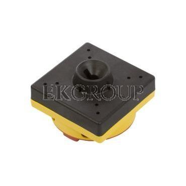 Pokrętło drzwiowy żółto-czerwone z blokadą do GA..A, GA..C i GA..D GAX61-85716