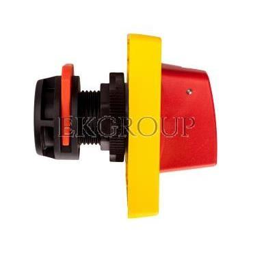 Napęd drzwiowy czerwono-żółty z blokadą GAX63-85762