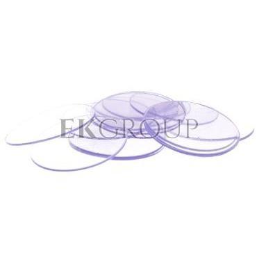 Osłonka przezroczysta (transparentna) okragła TK-612103-101546