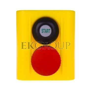 Korpus kasety z przyciskiem bezpieczeństwa IP54 W0-513 25S-98292