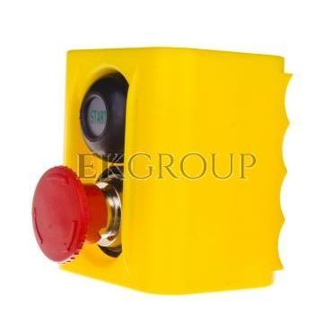 Korpus kasety z przyciskiem bezpieczeństwa IP54 W0-513 25S-98293