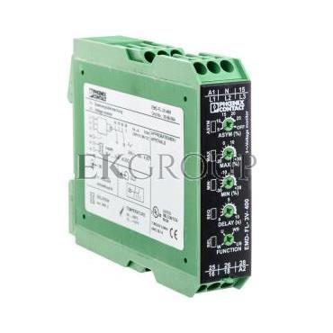 Przekaźnik kontroli napięcia 3-fazowy 2P 280-520V AC EMD-FL-3V-400 2866064-101883