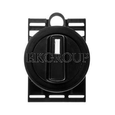 Napęd przycisku 22mm czarny pokrętny 0-1 W0-N-NEF22-PA S-100849