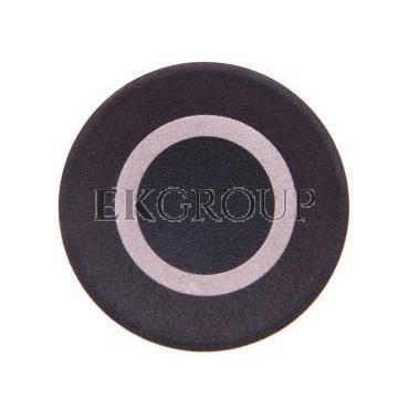 Wkładka przycisku 22mm płaska czarna z opisem O M22-XD-S-X0 218154-100484
